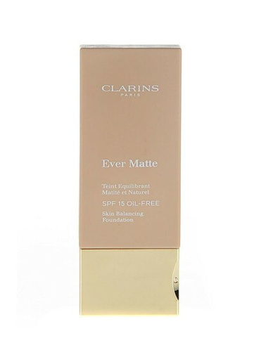 Clarins Ever Matte Spf15 Oil-Free Totte-111 Ten